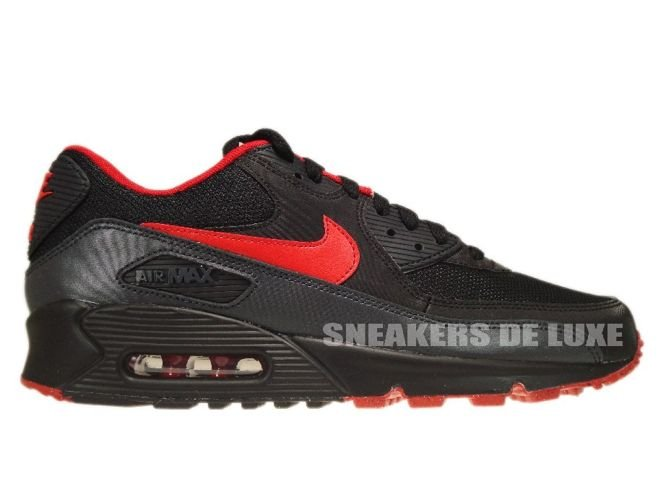red and black air max 90
