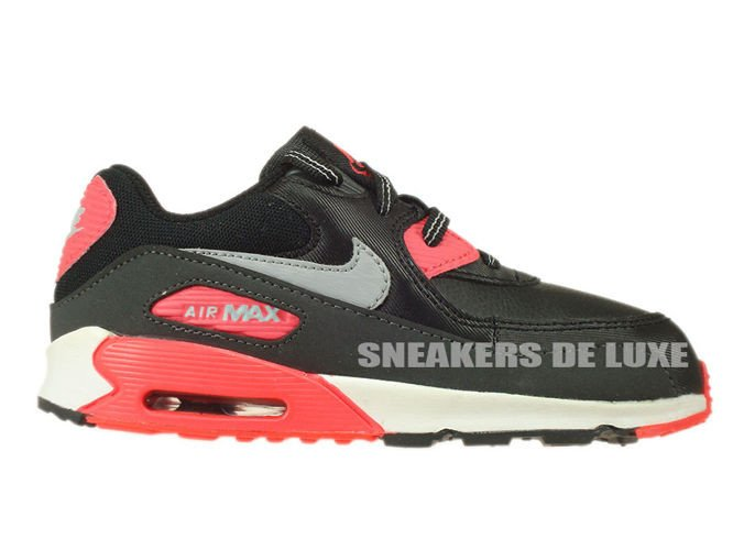 competitive price 4ad47 e473a 408110-080 Nike Air Max 90 TD Black Wolf Grey-Atomic Red- ...