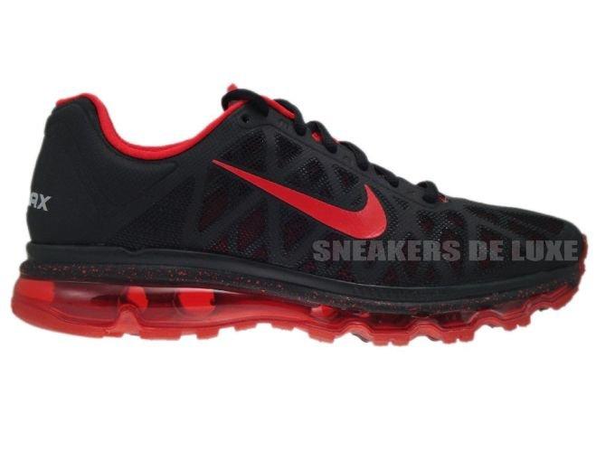 super popular a3144 407bb 429889-060 Nike Air Max 2011+ Black Sport Red ...