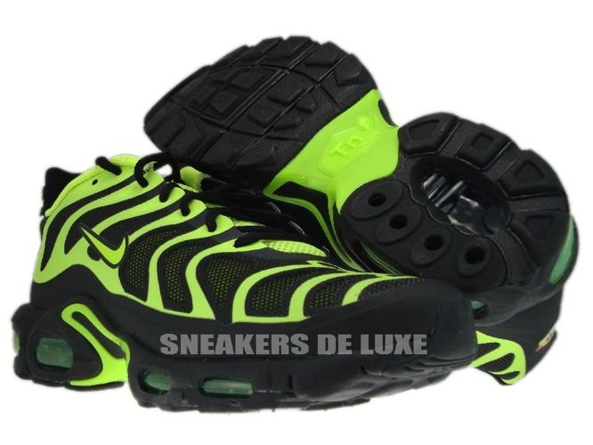 f358164608 483553-070 Nike Air Max Plus TN 1.5 Hyperfuse Black Volt- ...