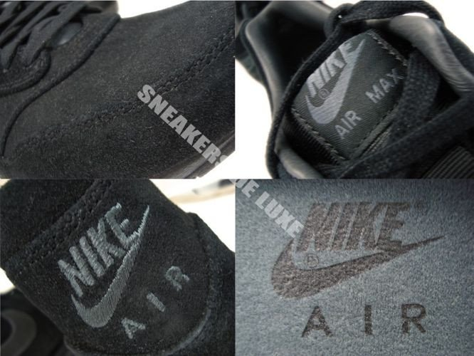 Nike Air Max 1 Premium Black Anthracite