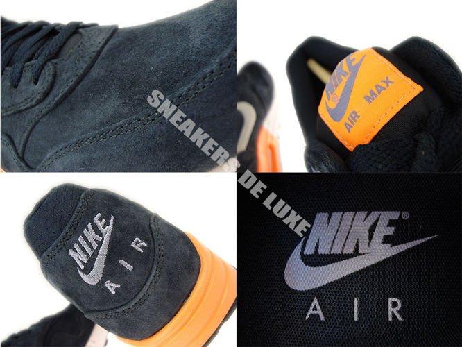Nike Air Max 1 Premium Dark Obsidian Metallic Silver