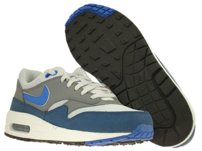 hot sales dd3ab 93660 ... 555766-040 Nike Air Max 1 Geyser Grey Prize Blue-Cool Grey ...