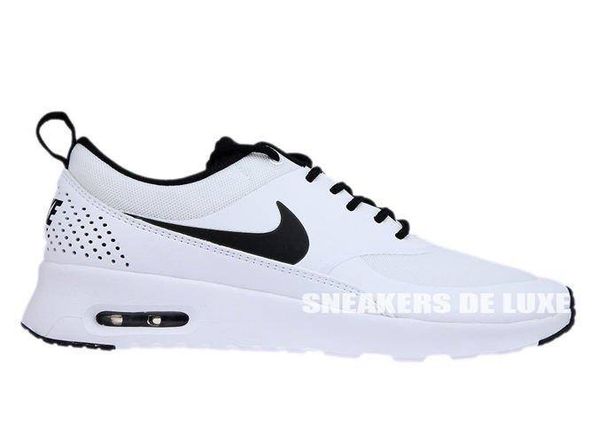 finest selection 015e6 2153f 599409-102 Nike Air Max Thea WhiteBlack-White ...