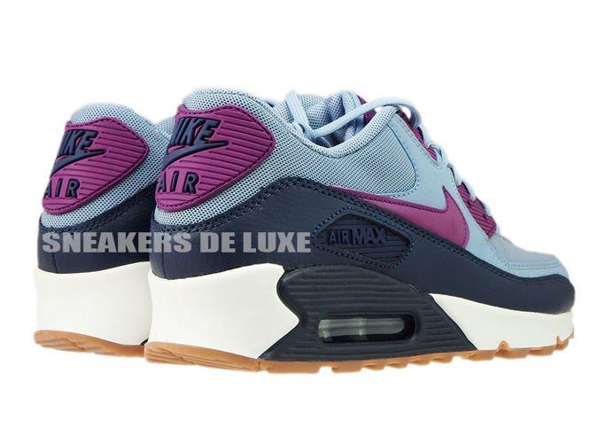 timeless design 49b3b c3101 ... 616730-403 Nike Air Max 90 Blue Grey Bright Grape
