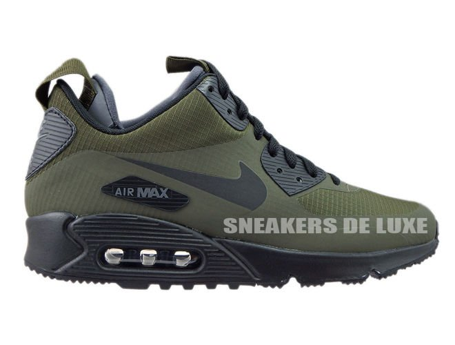 sports shoes 2f8f5 fd668 806808-300 Nike Air Max 90 Mid Winter Dark Loden/Black-Dark Grey ...