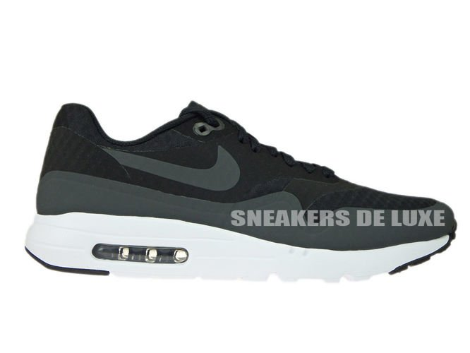 uk availability 7cfb1 9ad1e 819476-004 Nike Air Max 1 Ultra Essential Black White-Anthracite ...