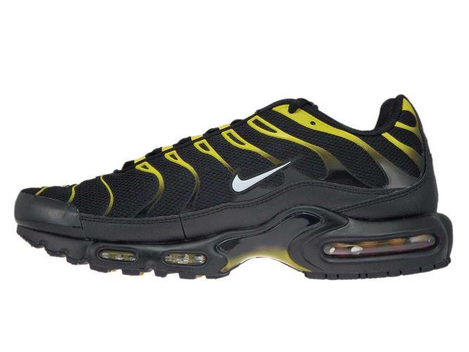 check out 35ac8 30e07 852630-020 Nike Air Max Plus TN 1 Black/White-Vivid Sulfur ...