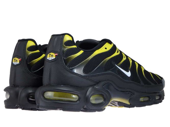 852630 020 Nike Air Max Plus TN 1 BlackWhite Vivid Sulfur