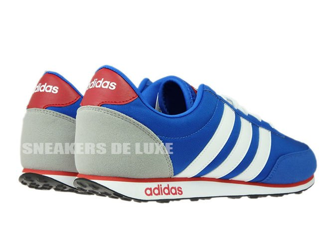 detailed look 1dcc1 c8284 ... AW5051 adidas neo V Racer Blue  Footwear White Power Red