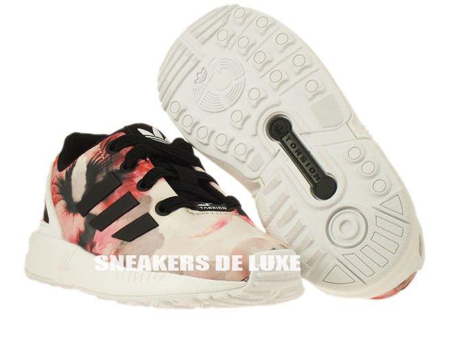 127b9ae0c01b6 ... B25650 adidas ZX Flux EL Infants core black   core black   ftwr white  ...