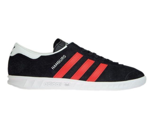 BB5300 adidas Hamburg Core Black/Red/Ftwr White ...