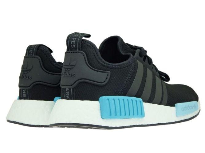 3c025a82cbb33 ... BY9951 adidas NMD R1 W Core Black Core Black Icey Blue · adidas  Originals