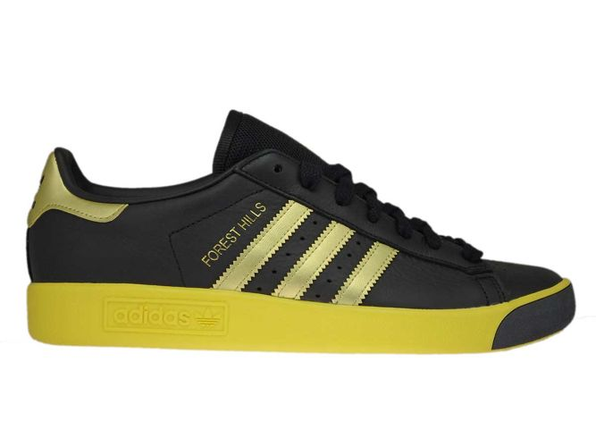 low priced 2c9a6 5dc73 CQ2084 adidas Forest Hills Core BlackGold MetEQT Yellow ...