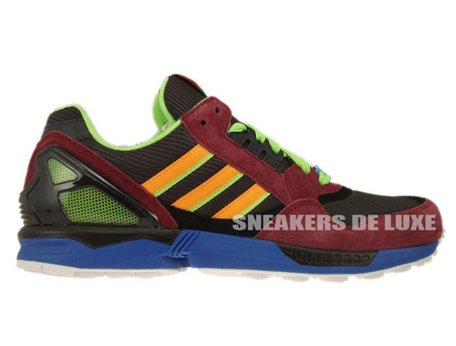 6ee4436849d31 D65499 Adidas ZX 9000 Torsion Dark Brown Macaw Zest D65499 adidas ...