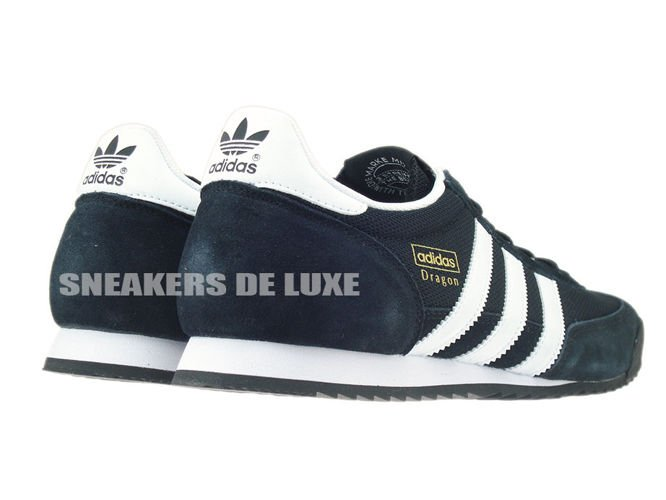 G16025 adidas Dragon core black / white / gold met. G16025 adidas ...