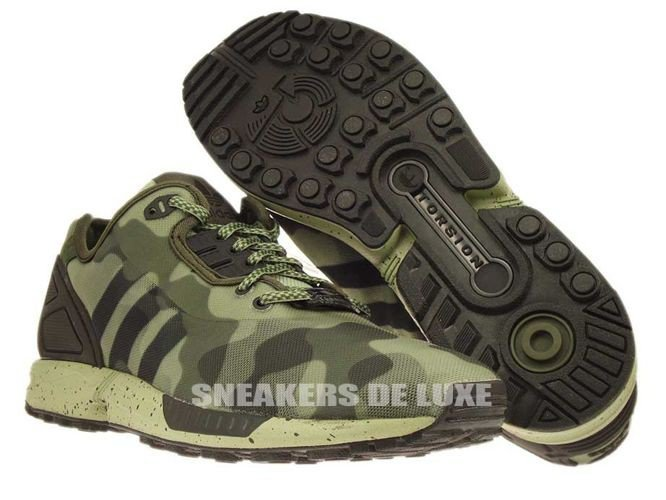 online store 97f14 3448a M19686 adidas ZX Flux Decon Camo Pack M19686 adidas ...