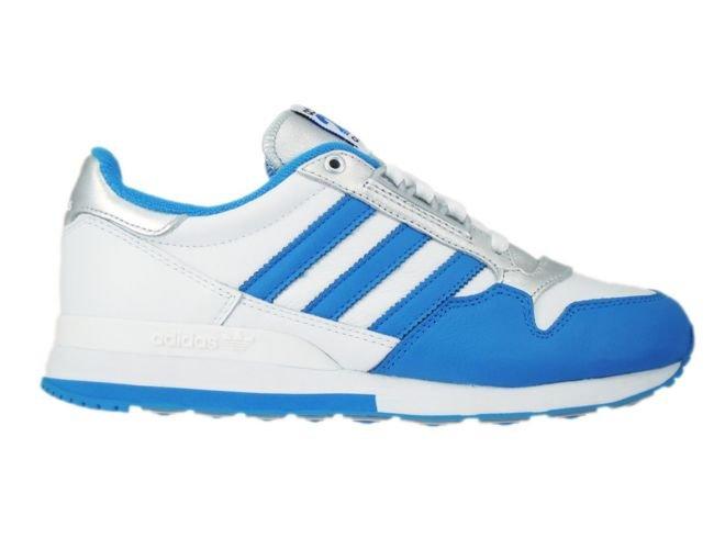 1bbea1104 M21520 adidas Originals ZX 500 OG Nigo White  Bright Blue  Silver Metallic  ...