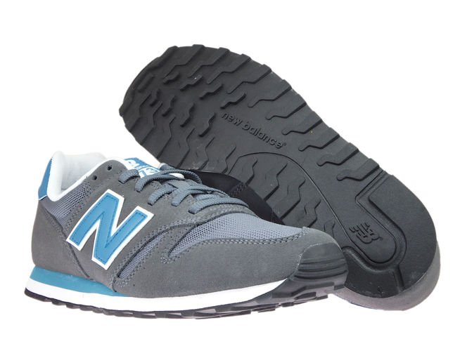 New Balance ML373LBF Grey / Blue ML373LBF New Balance \ mens |