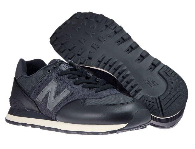 New Balance ML574LHF Black ML574LHF New Balance \ mens |