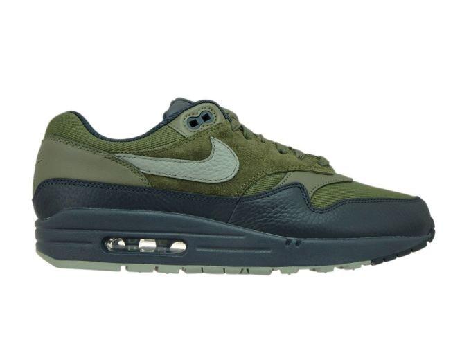 5a259c8a81 Nike Air Max 1 Premium 875844-201 Medium Olive/Dark Stucco 875844 ...