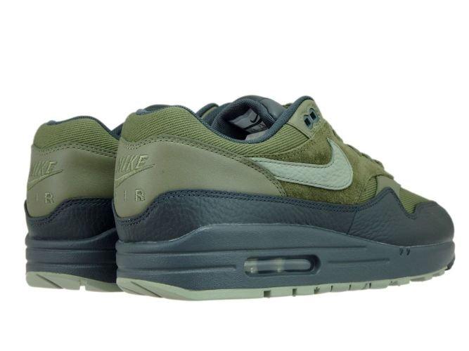 official photos 87dc4 514a5 ... Nike Air Max 1 Premium 875844-201 Medium Olive Dark Stucco