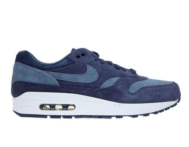 cheaper c9913 dbf24 Nike Air Max 1 Premium 875844-501 Neutral Indigo Diffused Blue ...