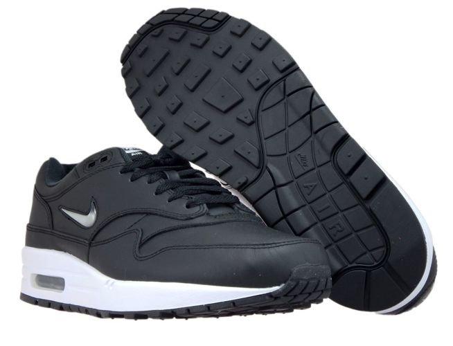 Nike Air Max 1 Jewel Black Metallic Silver