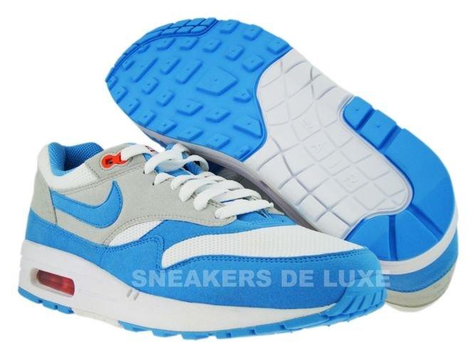 Nike Air Max 1 White/Scuba Blue-Neutral