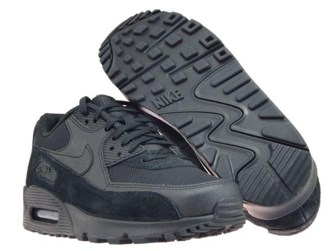 separation shoes da1ef 2a869 ... Nike Air Max 90 325213-043 Black Black-Black ...