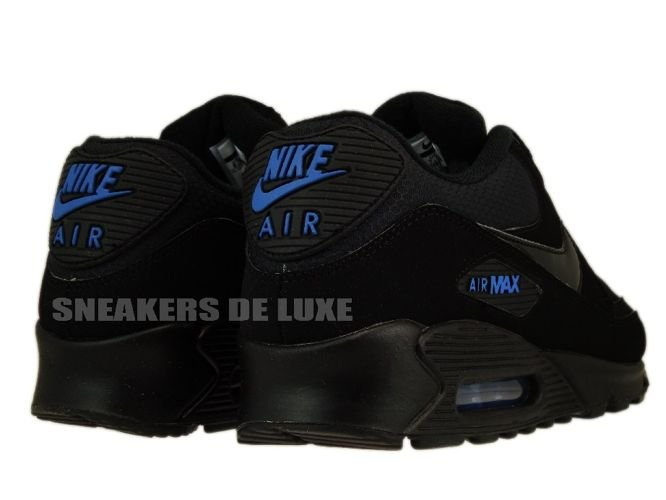 best website 0351f 92a6b Nike Air Max 90 Black/Black-Blue Spark 309299-906 309299-906 ...