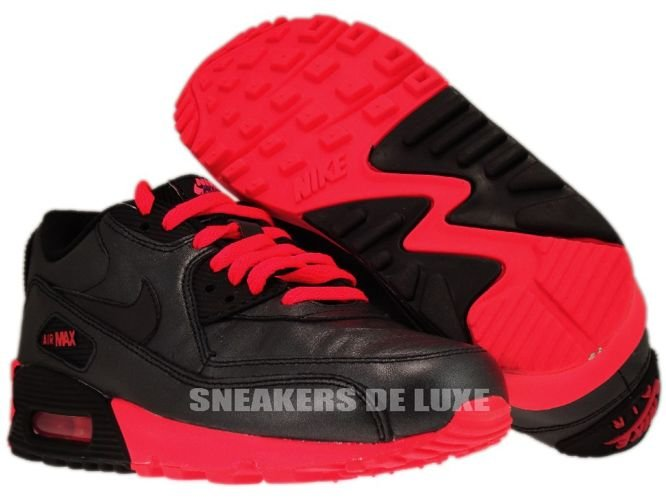 ladies air max 90 red leather