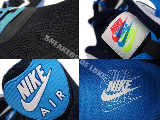 air max 90 blue black and white