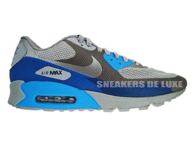 pretty nice 441d9 5ca8c Nike Air Max 90 PRM HYP MidnightFog MediumGrey BlueGlow ...