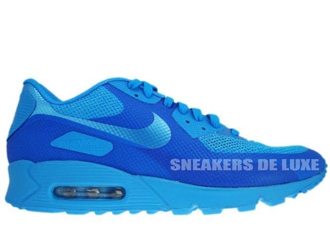 new concept e0cc3 61fbf Nike Air Max 90 Premium Hyperfuse Blue Glow/Blue Glow 454446-400 ...