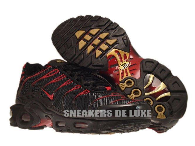 super popular ff77f 6d765 Nike Air Max Plus TN 1 Black/Diablo Red-Anthracite 604133 ...