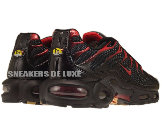 huge discount a21a0 d2081 ... Nike Air Max Plus TN 1 BlackDiablo Red-Anthracite ...