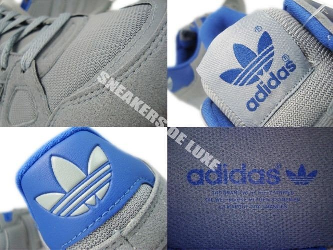 hot sale online b07b1 c4738 ... Q21311 Adidas ZX 750 Originals Tech GreyTech GreyColor Royal