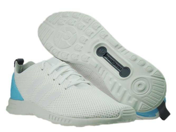 S78965 adidas ZX Flux ADV Smooth Core WhiteCore WhiteBlush