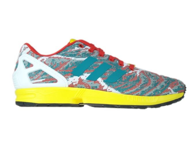 b8ece60e0 S79078 adidas ZX Flux Weave eqt green s16   yellow   red S79078 ...