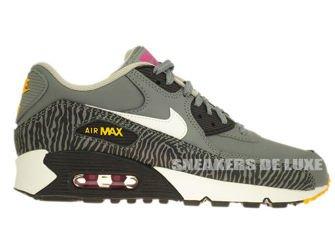 "307793-075 Nike Air Max 90 ""Zebra"" Cool Grey"