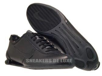 316317-091 Nike Shox Rivalry Black/Black-Dark Grey