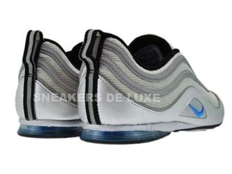 316328-041 Nike Air Plata Metallic Silver/Blue