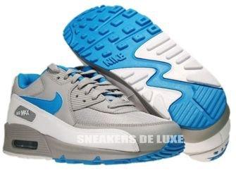 325018-096 Nike Air Max 90 Wolf Grey/Dynamic Blue-White