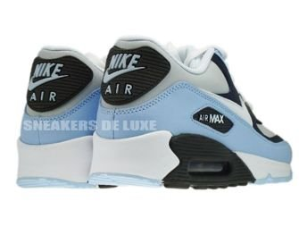 325018-409 Nike Air Max 90 Obsidian/White-Obsidian Midnight Fog