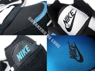 456535-014 Nike MD Runner Black/White-Dynamic Blue