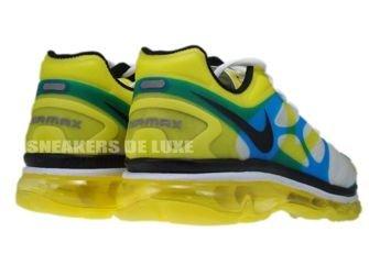 487982-107 Nike Air Max+ 2012 White/Black-Lemon Twist-Current Blue