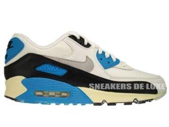 543361-104 Nike Air Max 90 OG Sail/Neutral Grey-Laser Blue-Black