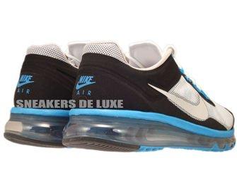 554967-100 Nike Air Max+ 2013 EXT White/Light Zen Grey-Laser Blue-Black
