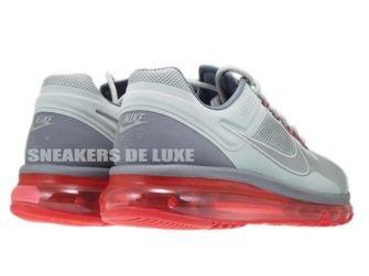 555616-006 Nike Air Max+ 2013 EXT Metallic Silver/Hyper Red Lightweight